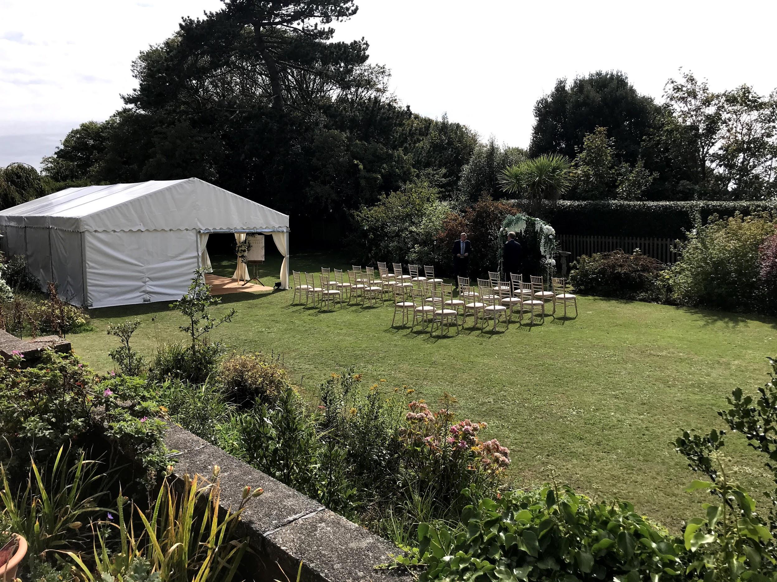 Budleigh Salterton Wedding.