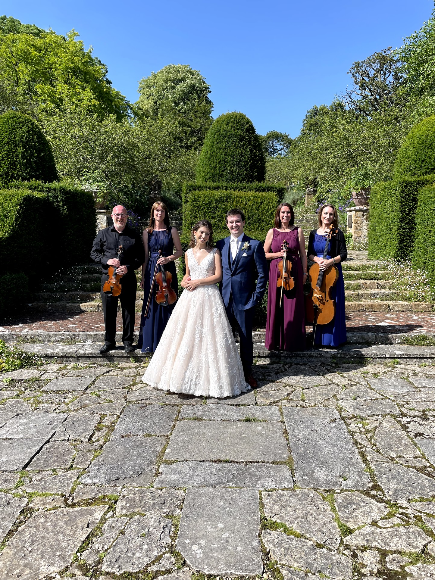 Luxurious wedding at Mapperton House in Dorset.